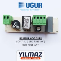 Uğur UDF 7 SL ( UED 7265 A+ ) , UED 7266 A++ Dijital Termostat