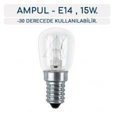 Uğur Derin Dondurucu Ampul E14 (-30 Derece Dayanıklı , LED)