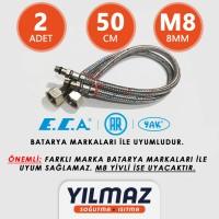 ECA Batarya Bağlantı Fleksi - Hortumu, Soğuk ve Sıcak - 50cm , M8
