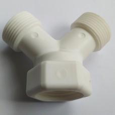 Çamaşır - Bulaşık Makinesi Şebeke Hortumu Musluk Bağlantı Çatal