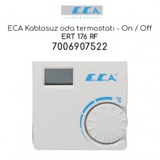 ECA ERT 176 RF - Kablosuz Oda Termostatı , On / Off (7006907522)